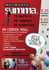Movimiento SUMMA te invita a un sábado de aventura - Visita www.movimientosumma.com para mas informacion