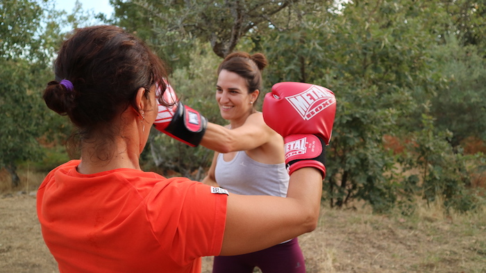 fitness boxing movimiento summa