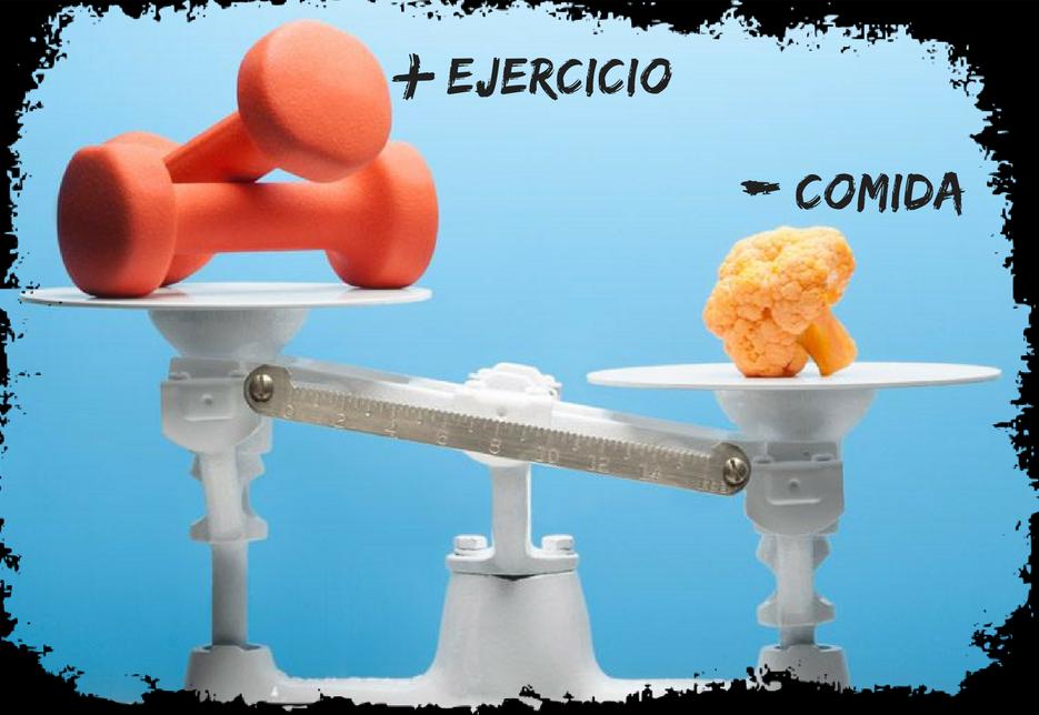 dieta y ejercicio fisico