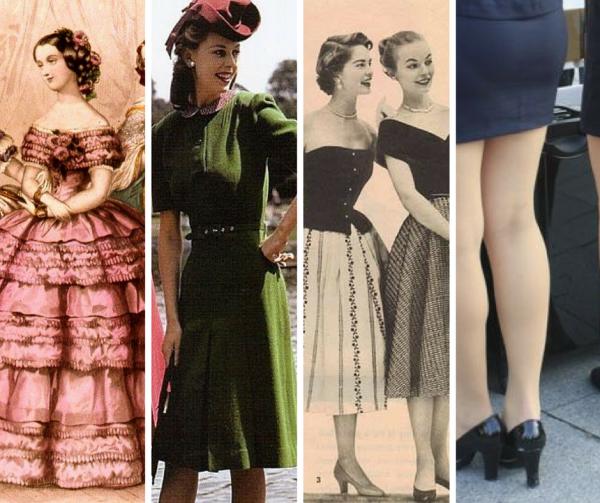 moda de mujer limita habilidad motriz