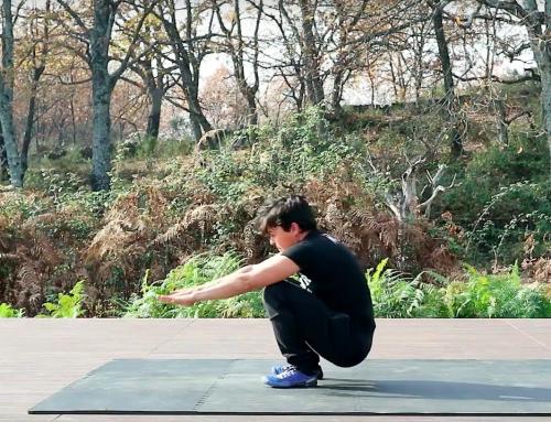 ¿Puedes levantarte del suelo sin apoyar manos?