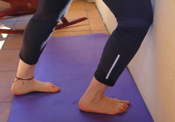 prueba flexibilidad tobillo