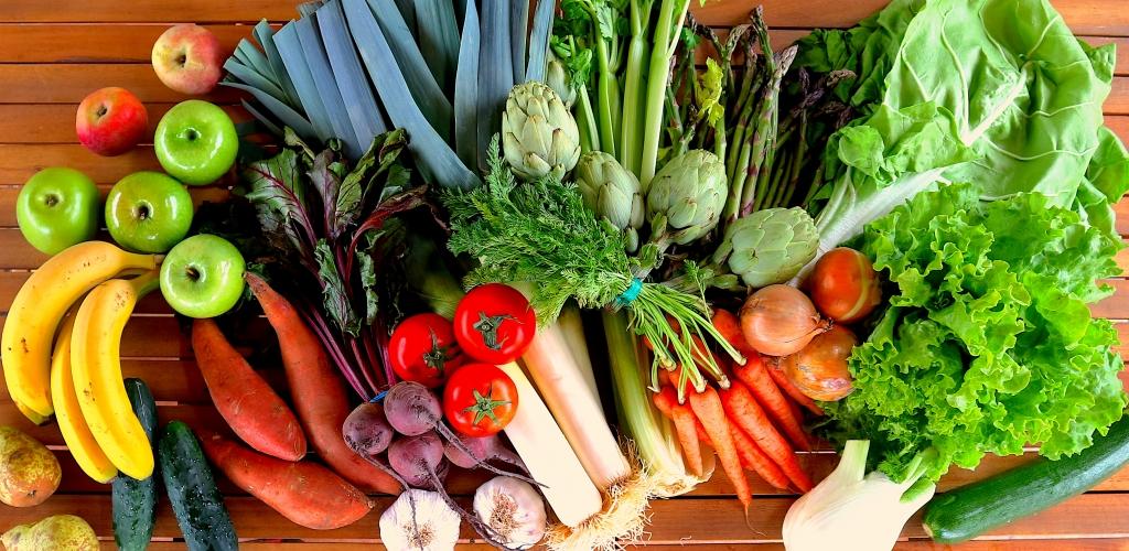 frutos y hortalizas